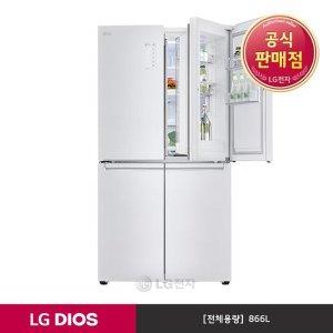 S  E  공식판매점  LG전자  LG DIOS 매직스페이스 냉장고 F872SW30 (866L)