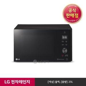 S  E  공식판매점  LG전자  LG 전자레인지 블랙 MW25B (25L)