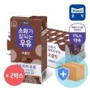매일 소화가 잘되는 우유 초콜릿 190ml 48팩/멸균우유