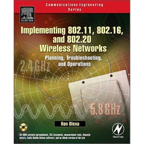 Implementing 802 11  802 16  And 802 20 Wireless Networks : Planning  Troubleshooting And Maint...