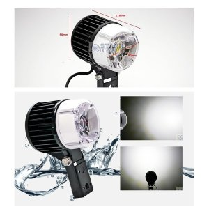 LED 40W COB 서치라이트 12V 24V 겸용 국산 / 확산형