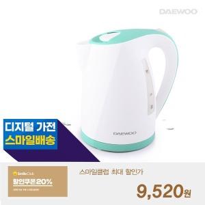 대우 전기주전자 1.7리터 (민트) 커피포트 DEK-D6500