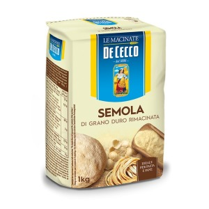 데체코 세몰리나 듀럼밀 1kg 디벨라 대용