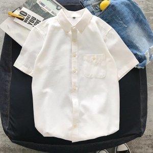 남성 반팔 셔츠 남방 빅사이즈 와이셔츠 여름 eo16