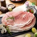 한돈 뒷다리살_껍데기O (제육용) 2.5kg