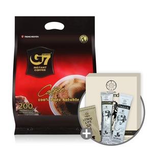 베트남 G7 커피/Pure Black 200T/블랙 +레전드3종 키트