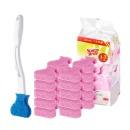 크린스틱 변기청소 핸들+향기톡톡 리필 20+1입 라벤더