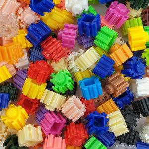 디폼블럭 10mm 퍼즐블럭 믹스 300개