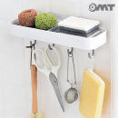 OMT 부착형 주방 수납 선반 받침대 주방용품 OB-YW27