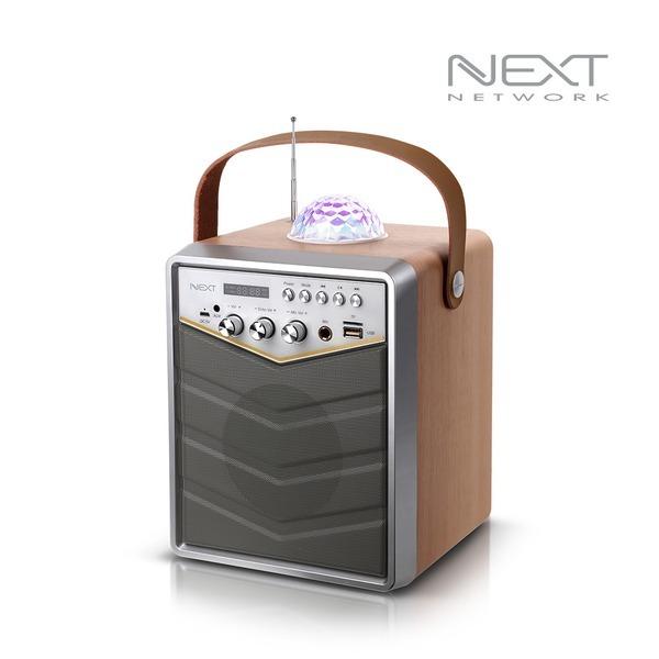 NEXT-BT30AMP 블루투스 노래방 앰프+무선마이크