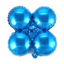 은박 아치 가랜드 낱개1개 (블루) 오픈 입구장식