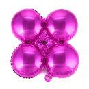 은박 아치 가랜드 낱개1개 (핑크) 오픈 입구장식