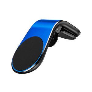 차량용 송풍구 휴대폰 마그네틱 거치대 (블루)