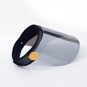 미러코팅 자외선차단99.9% 썬캡 땀흡수밴드/방역모자