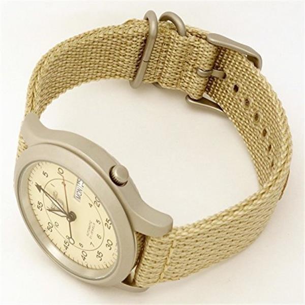 SEIKO 세이코 손목시계 남성용 시계 SNK803K2 베이지