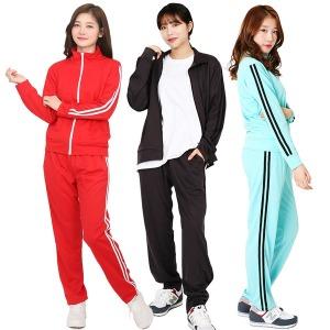 남여공용 2선 츄리닝 트레이닝복 세트 운동복 단체복