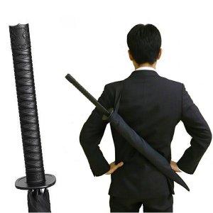 시선집중 무사의 칼 모양 우산 사무라이 장우산