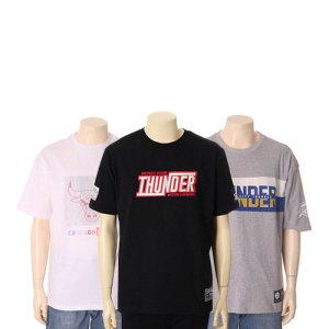 공용 프린트 자수 반팔 티셔츠 7종 택1(N192TS040P외 6종)
