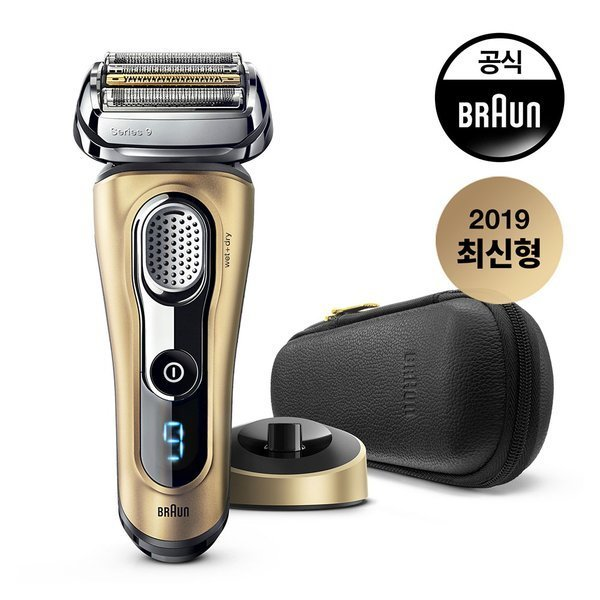 BRAUN  브라운 전기면도기 9399Ps GOLD