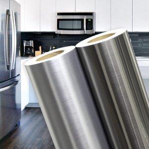 (데코랑) 메탈 시트지 싱크대 냉장고 에어컨 가구 인테리어