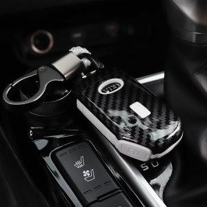 신형 K5 카본 키케이스 키홀더 키커버 지갑 키링 용품