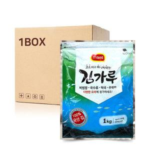 업소용 바삭한 고명 김 고소한 김가루 (1kgX4EA) 1Box