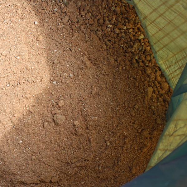 조경용흙/가는 황마사20kg/황토와 마사혼합흙