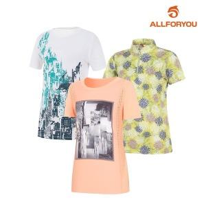 올포유 SUMMER 인기 골프웨어 티셔츠/팬츠/아우터/ACC