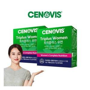 세노비스 여성트리플러스우먼 멀티비타민미네랄 90캡슐x2개세트