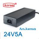 아답터 24V5A 고품질 어댑터 6등급 해외인증제품