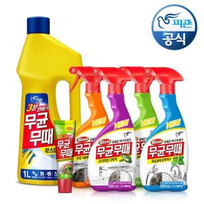 피죤 청소세제 무균무때 500mlx3개