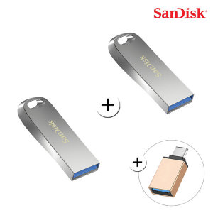 SOI 울트라 럭스 USB 3.1 32G + 32G + C젠더 무료배송