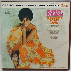 14.NANCY WILSON Welcome To My Love - Reel To Reel Tape 4 Track U.S.A 원본 마스터테이프