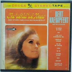 15.The World We Knew - Reel To Reel Tape 4 Track U.S.A 원본 마스터테이프