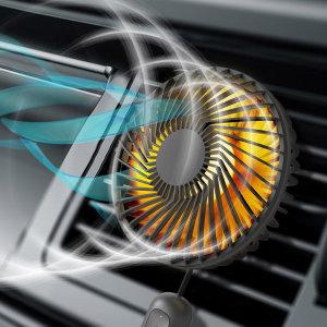 UM2 LED 차량용 선풍기 서큘레이터 UMCAR-FAN24