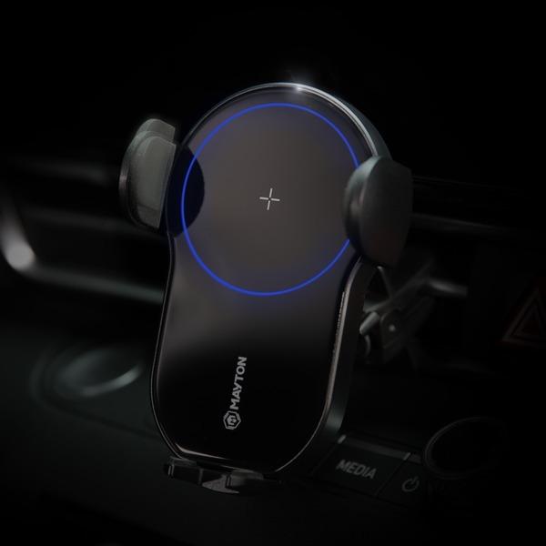 차량용 핸드폰 고속 무선충전 거치대 - 고충