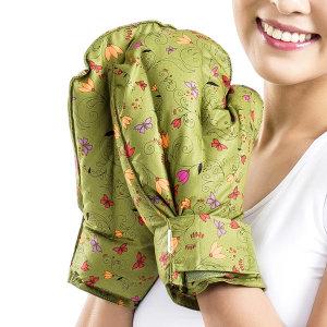 천연 허브 손 찜질팩 (한쌍) 카키