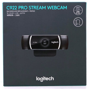 로지텍 C922 PRO STREAM WEBCAM (로지텍코리아정품)