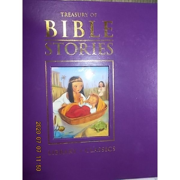 TREASURY OF BIBLE STORIES     /(LIBRARY CLASSICS)