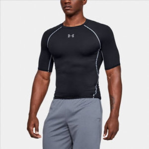 남성 UA HeatGear® 아머 반팔 컴프레션 셔츠(1257468-001)