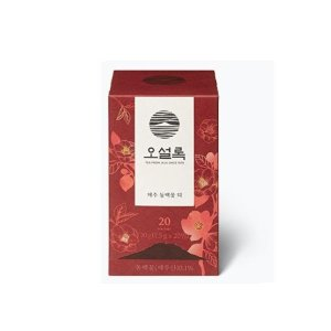 제주동백꽃티 20t