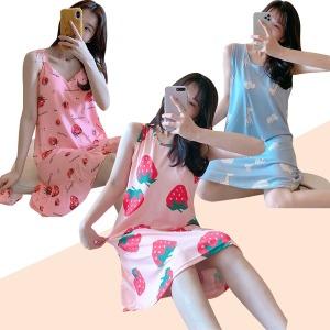 수맘 반팔 파자마 잠옷세트 홈웨어 원피스