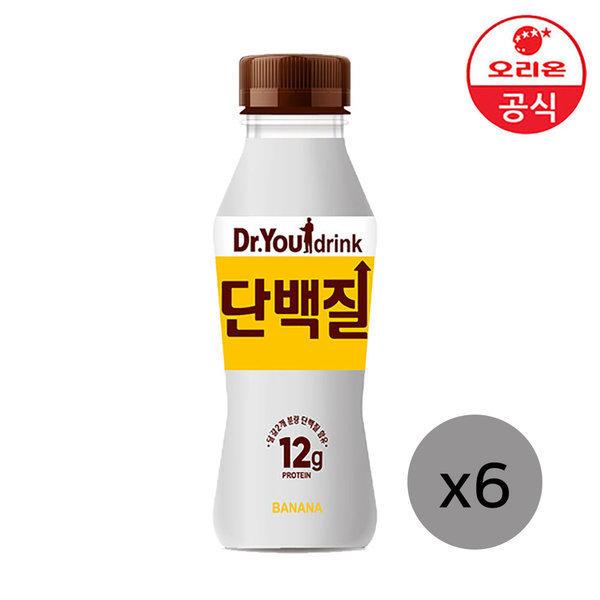 닥터유 단백질드링크 바나나맛 240ml X6개