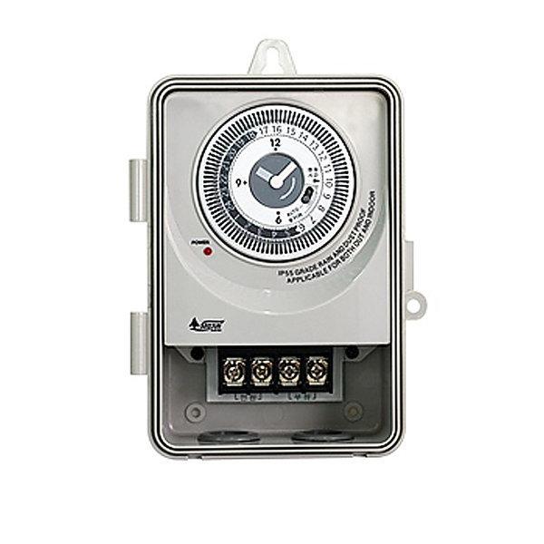 SJP-S40 40A 케이스 간판 타이머 타임스위치 LED 옥외