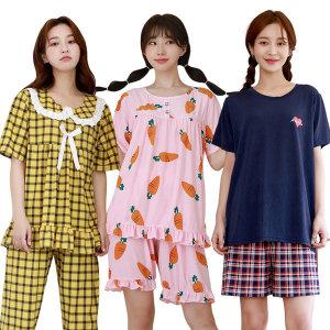 시원한 쿨세트/파자마/인견원피스/쿨바지/잠옷