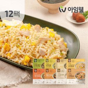 무배행사/닭가슴살 곤약볶음밥 200g 4종 12팩