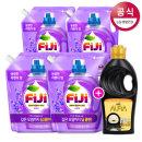 FiJi 라벤더젤 액체세제 리필 1.5L4+펭수1L증정