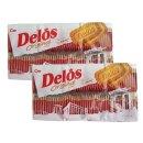 델로스 오리지널 630gX2개 과자 간식 쿠키 커피 다식