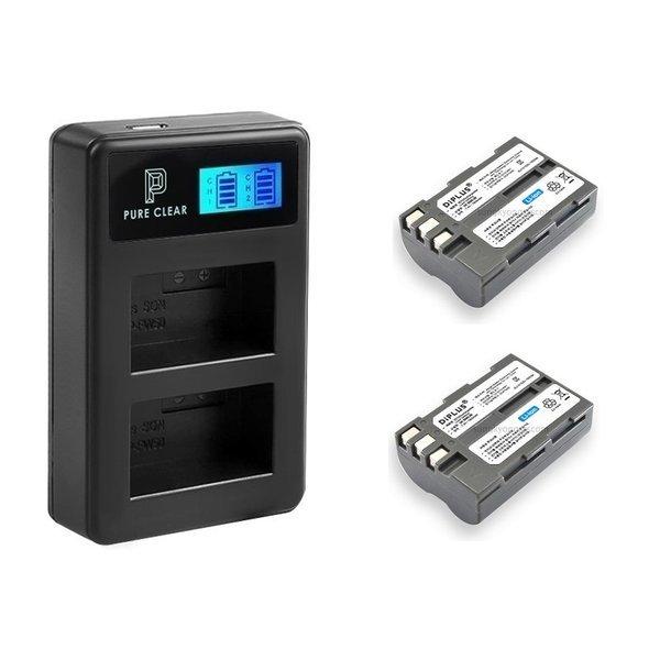 니콘 EN-EL3(A) 2구 LCD 호환충전기1+호환배터리2