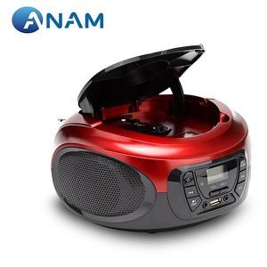 아남 USB/SD카드CD포터블 A-87 MP3CD지원 라디오